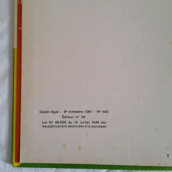 ASTÉRIX LE GAULOIS DE 1961 DE GOSCINNY ET UDERZO 2