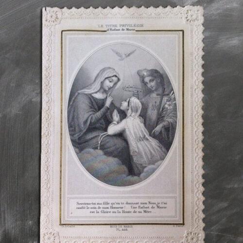 CANIVET DENTELLE ENFANT DE MARIE