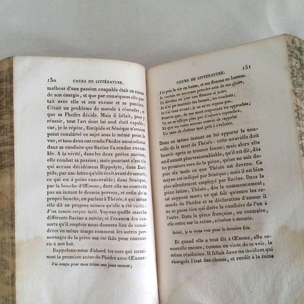 COURS DE LITTÉRATURE ANCIENNE JF LA HARPE 3