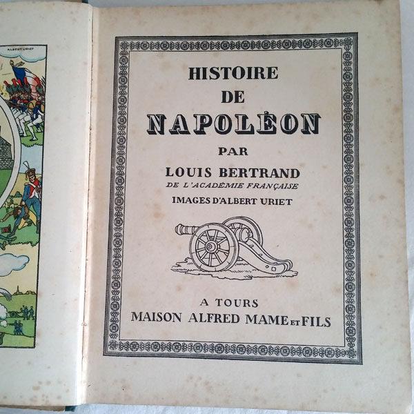 HISTOIRE DE NAPOLÉON DE LOUIS BERTRAND 2