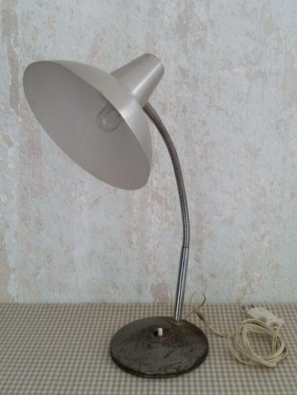 LAMPE DE BUREAU ARTICULÉE EN ALU BROSSÉ