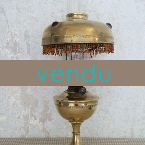 LAMPE PARISIENNE DES ANNÉES 20