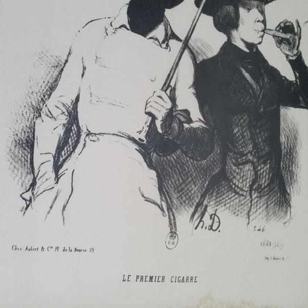 LITHOGRAPHIE DE HONORÉ DAUMIER 3
