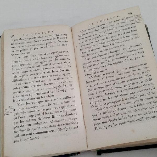 LOGIQUE DE CONDILLAC 1802 ÉDITION ORIGINALE 3