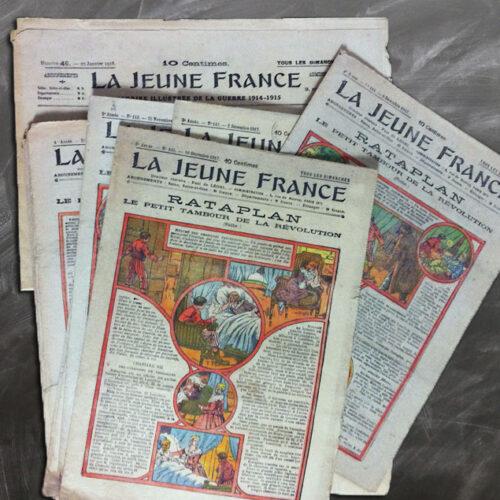 REVUE LA JEUNE FRANCE ET RATAPLAN