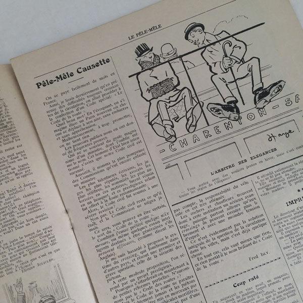 REVUE LE PÊLE-MÊLE 1909 ET 1910 2
