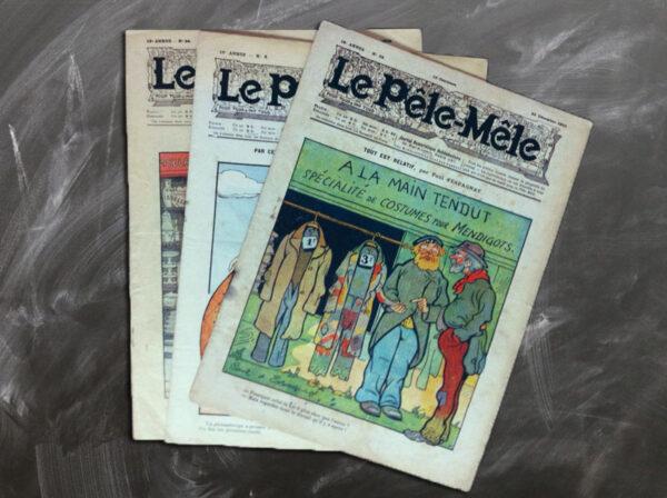REVUE LE PÊLE-MÊLE 1909 ET 1910