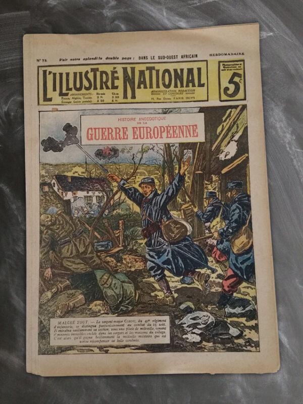 REVUE L'ILLUSTRÉ NATIONAL NUMÉRO 73