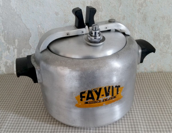 Autocuiseur ancien Fay-vit aluminium
