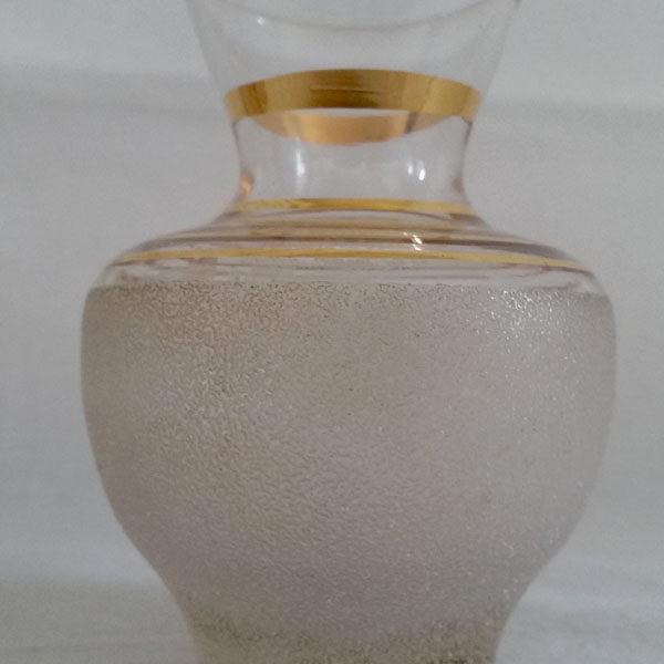 Vase années 50 en verre granité 3
