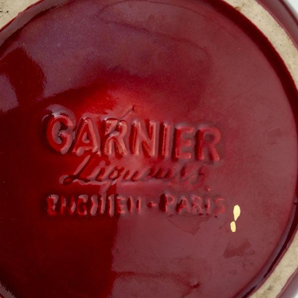 Bouteille bougie publicitaire Garnier 3