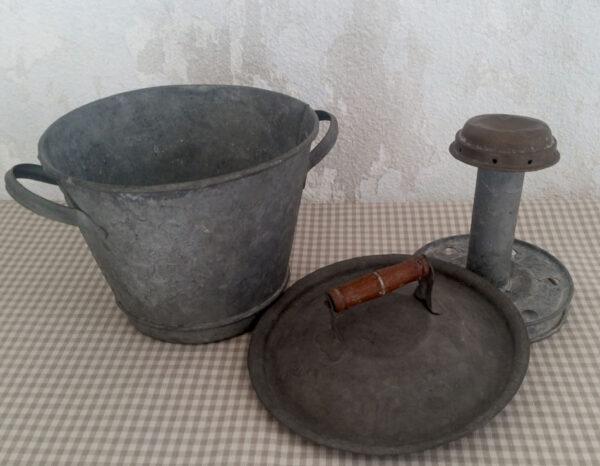 Lessiveuse jouet ancienne en zinc