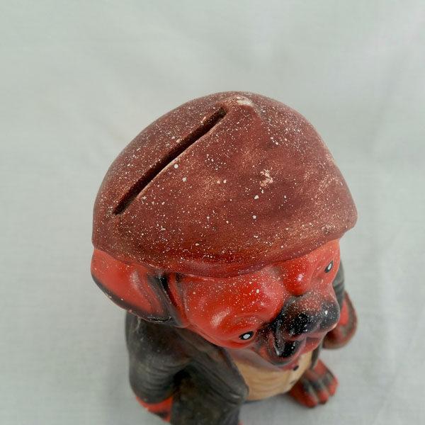 Tirelire chien bouledogue en céramique 2