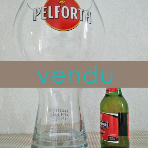 Verre à bière géant Pelforth 4 litres