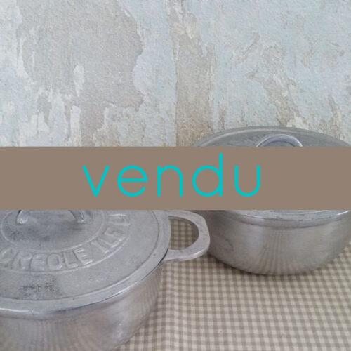 Marmite créole Réunion en fonte