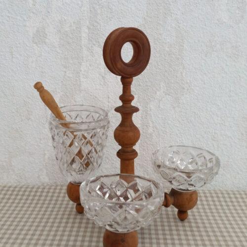 Saleron moutardier cristal et buis