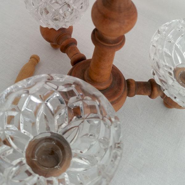 Saleron moutardier cristal et buis 2