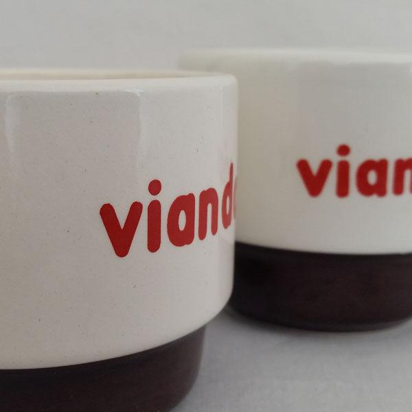 Tasse bistrot publicitaire Viandox 2