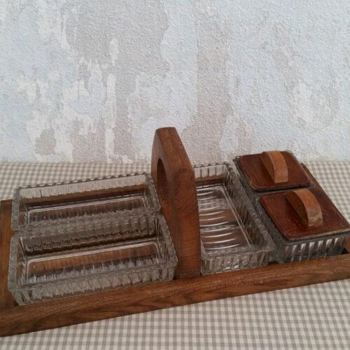 Serviteur plateau apéritif vintage