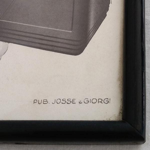 Affiche publicitaire des années 20 2