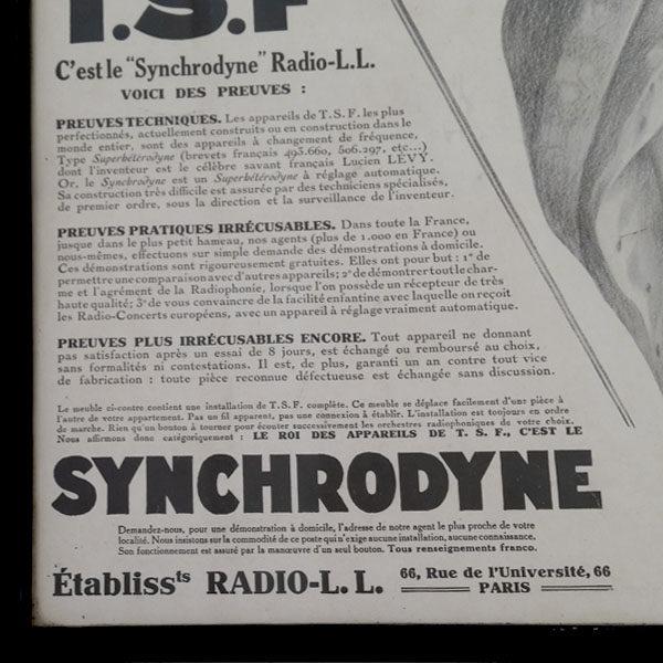 Affiche publicitaire des années 20 3