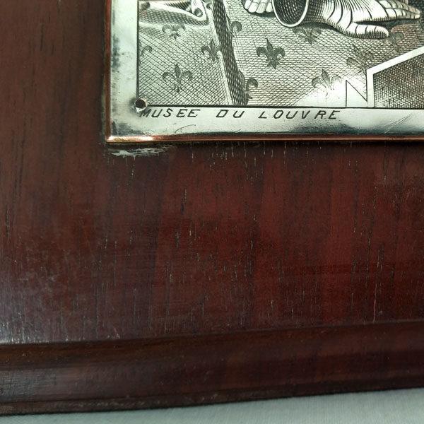 Plaque en cuivre Jeanne d'Arc 3