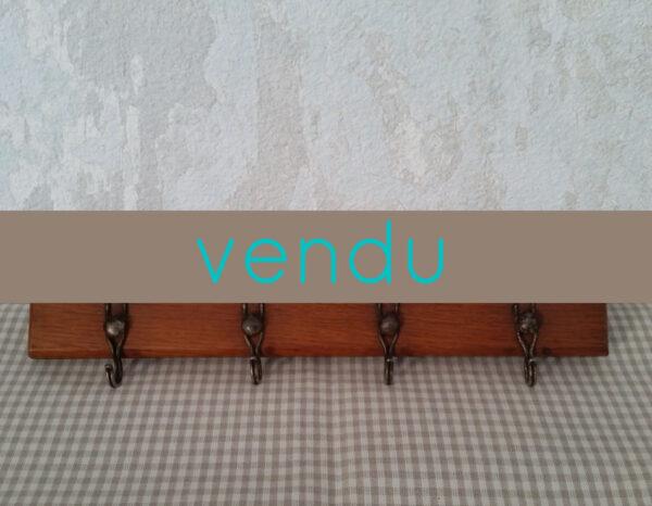 Porte torchons ancien en bois