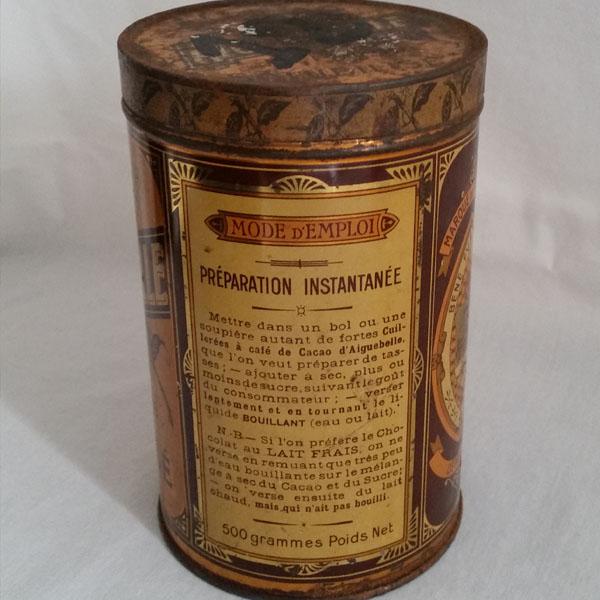 Boîte ancienne cacao d'Aiguebelle 2