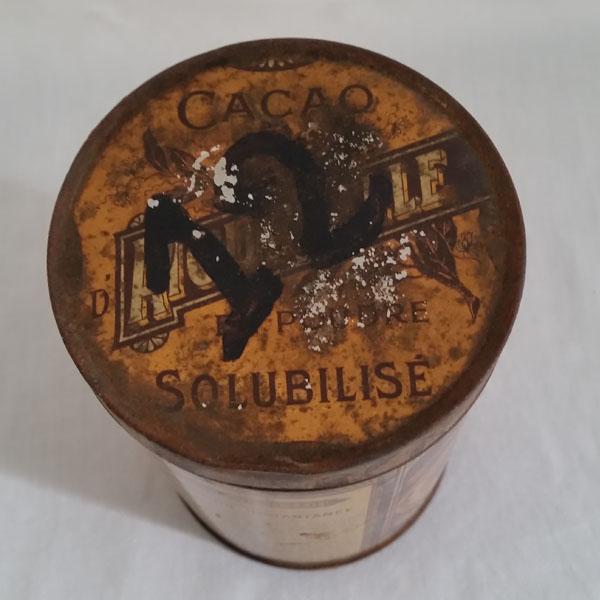 Boîte ancienne cacao d'Aiguebelle 3