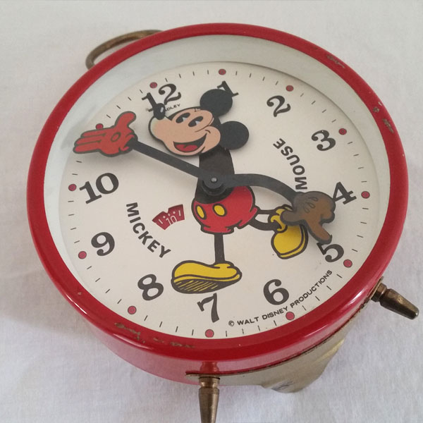 Réveil Mickey Mouse BRADLEY 3