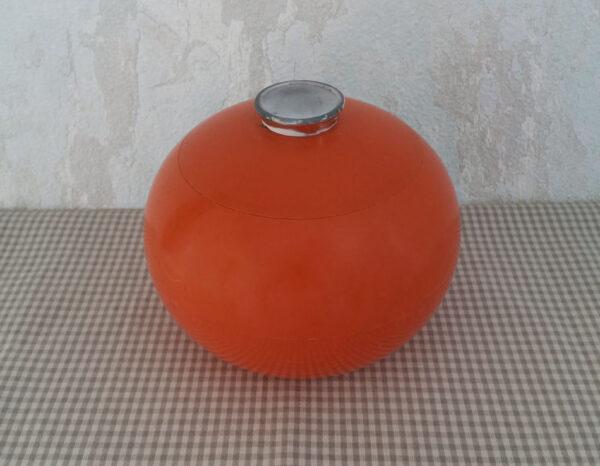 Seau à glaçons boule orange 1