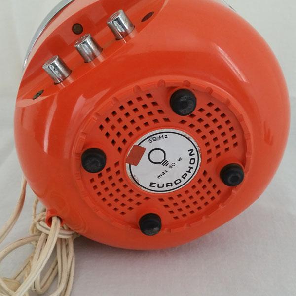 Lampe radio Europhon années 70 3