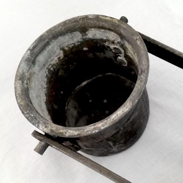 Lampe de mineur acétylène ancienne 2