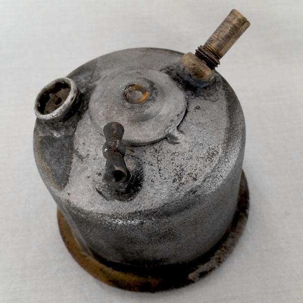 Lampe de mineur acétylène ancienne 3